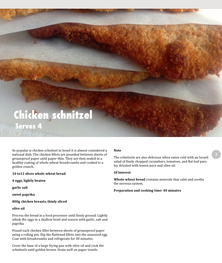 chicken snitzel
