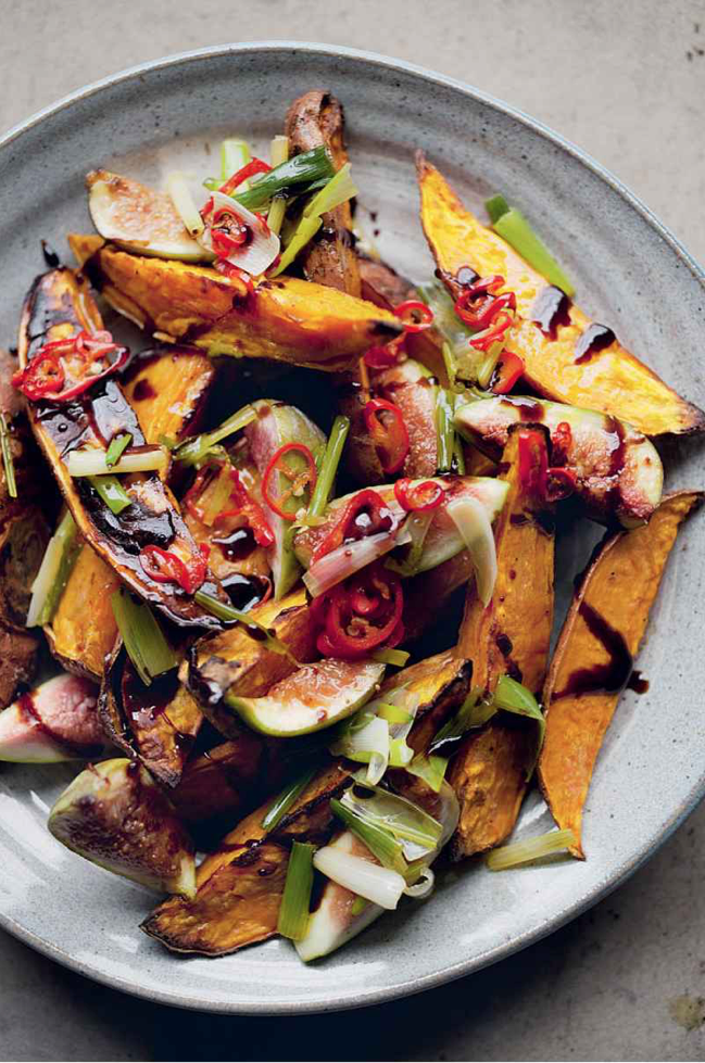 roasted-sweet-potatoes-and-fresh-figs